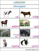tamil printable books   colors shapes tamil days months and animals