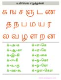 tamil printable books   tamil letters